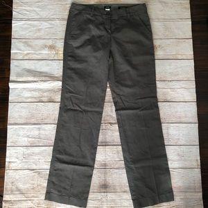 J. Crew Belmarin City Fit Linen Blend Pants 6